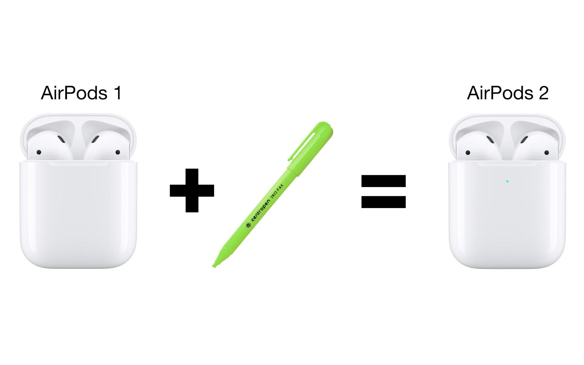 AirPods 2 pen