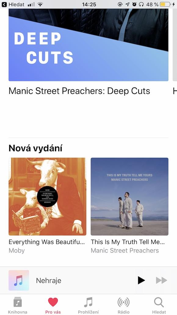 Apple Music Nova vydani