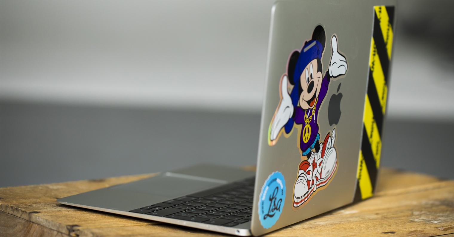 Macbook nalepky nahled