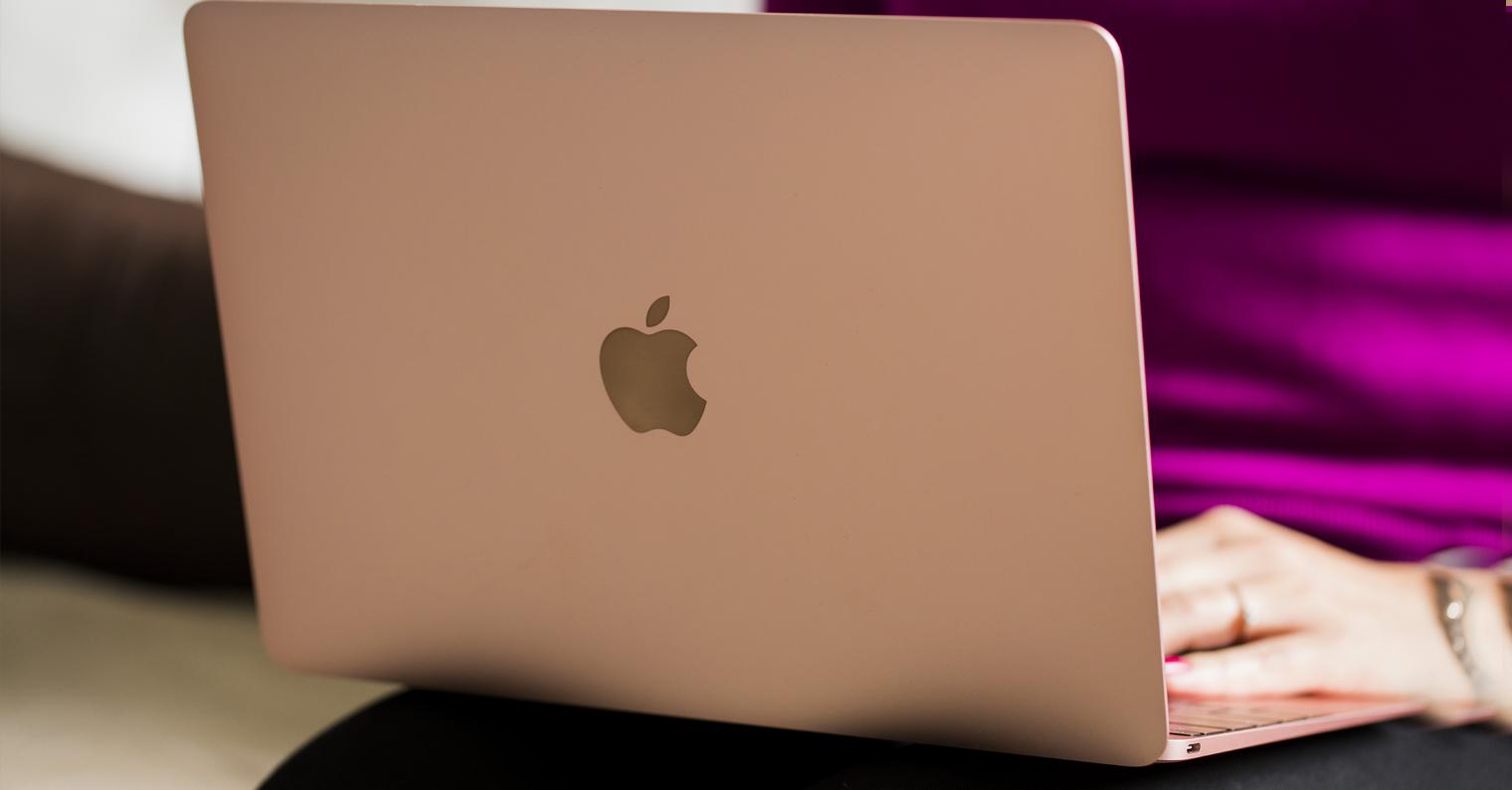"MacBook rose gold 12"""