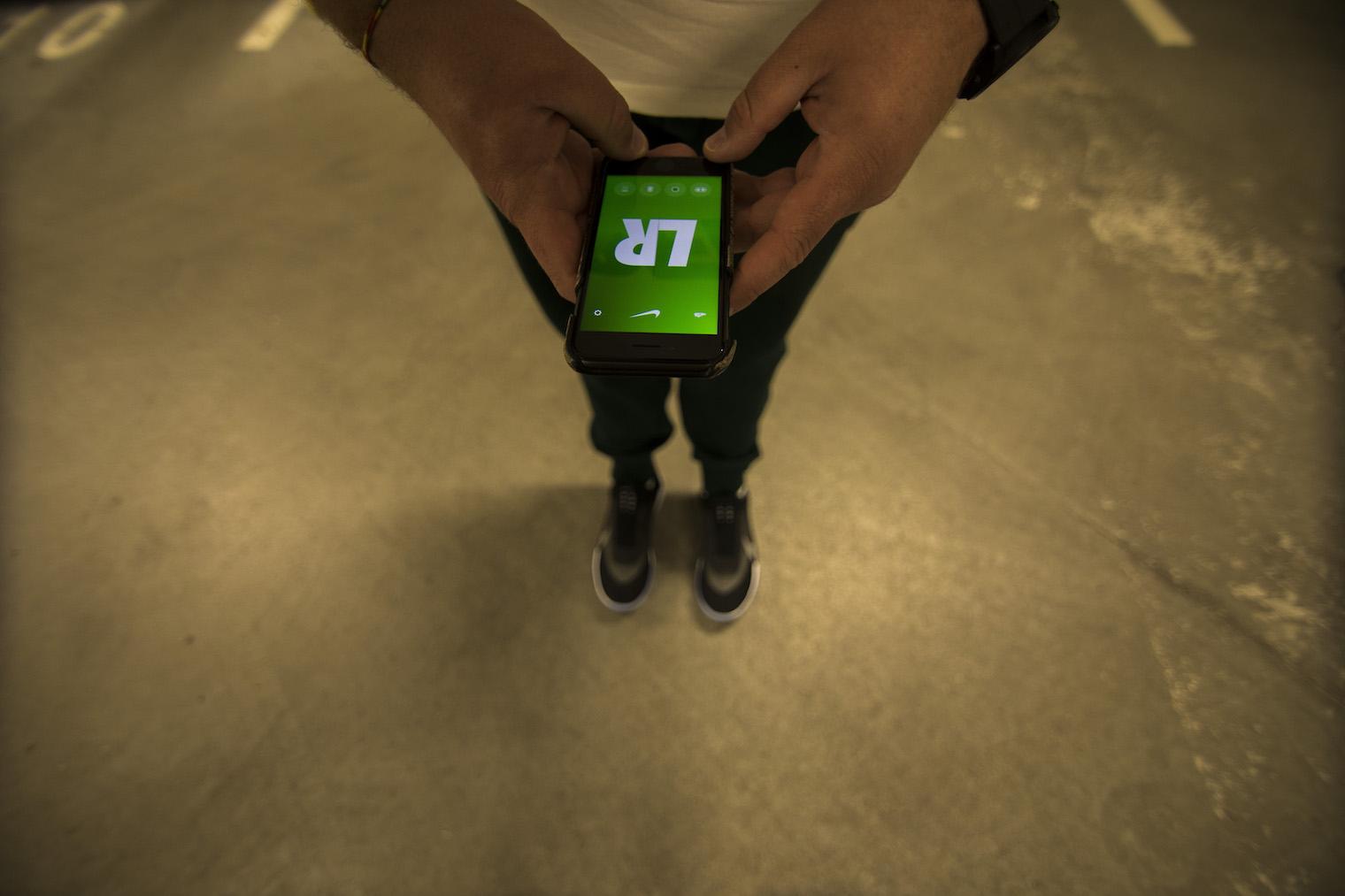 Nike adapt bb application