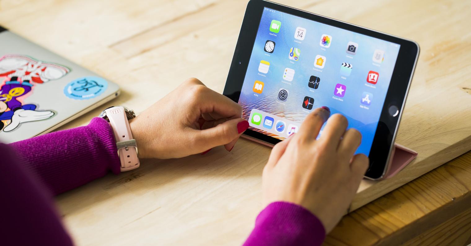 práce na iPad mini