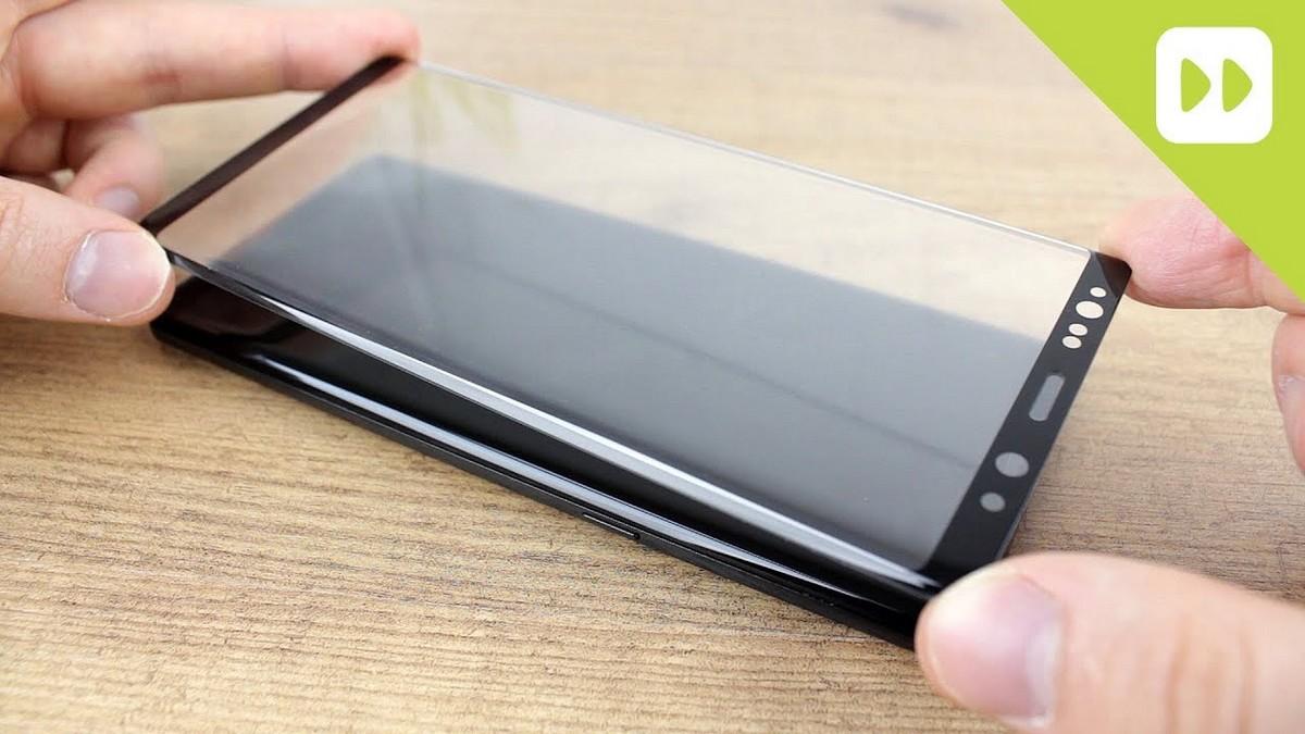 Samsung - jak nalepit tvrzené sklo