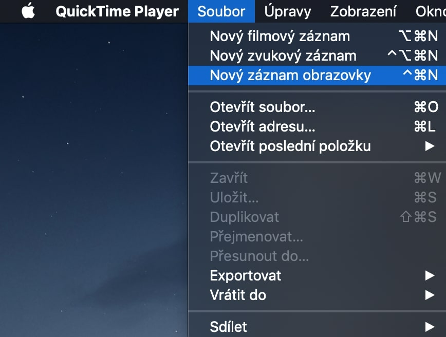 nativni-aplikace-quicktime-nahravani-obrazovky-1