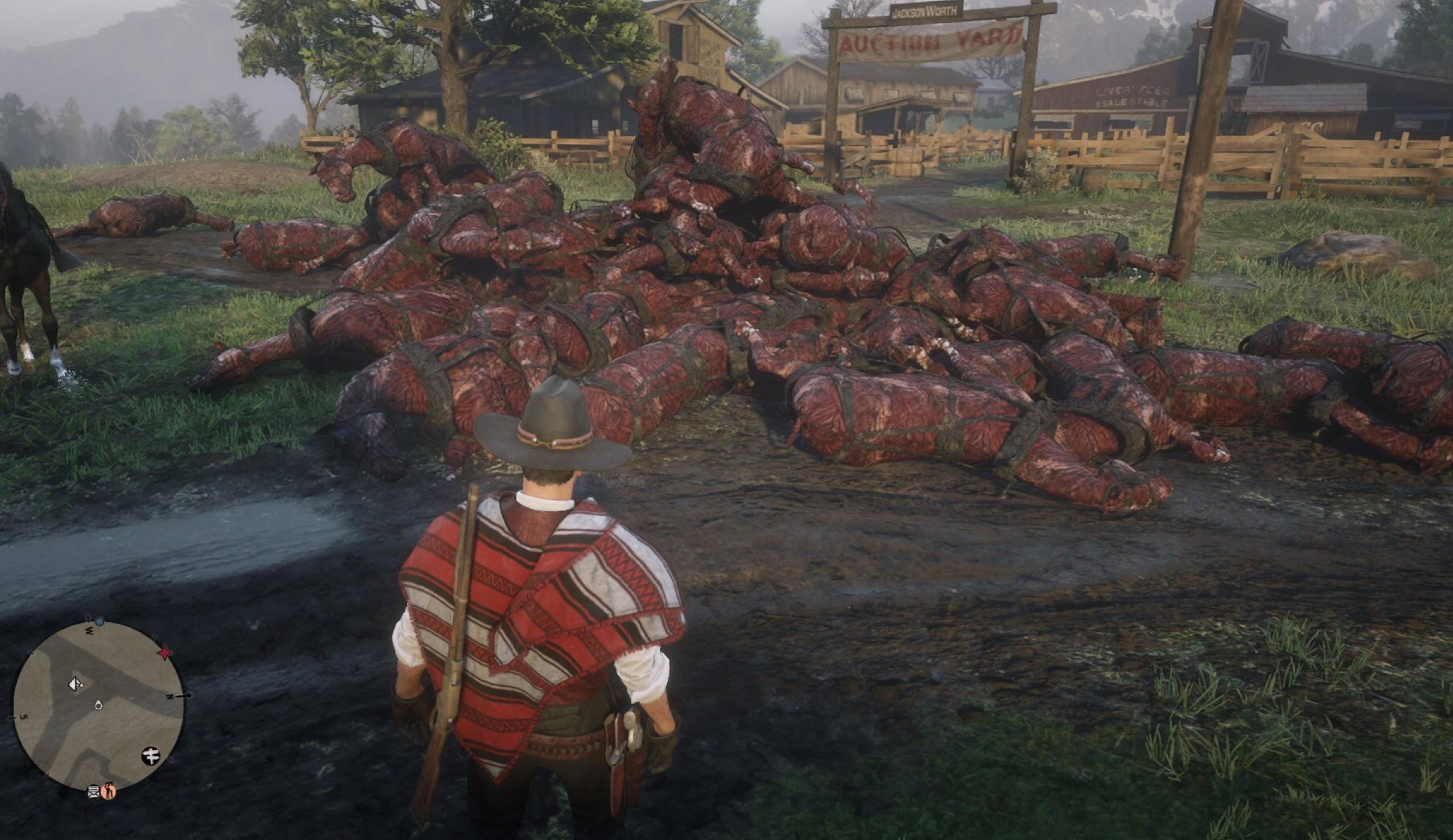 red dead online kone 1
