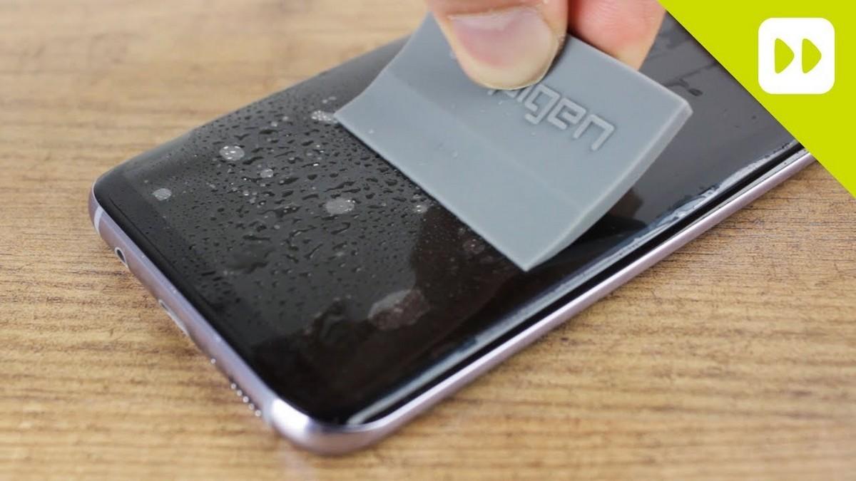 Samsung - jak nalepit fólii