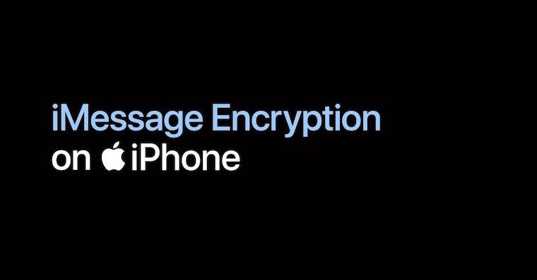 Sifrovani zprav iMessage nahled YouTube fb