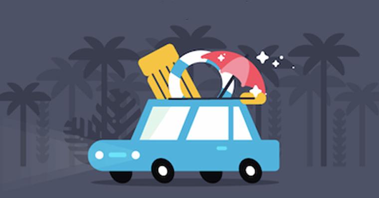 dovolena auto cestovani na dovolenou