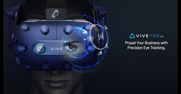 0df21229e HTC jde s virtuální realitou ještě dále. Nový headset sleduje i pohyb očí