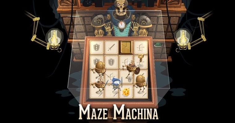 maze machine fb