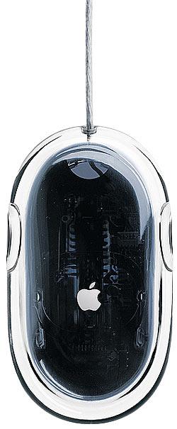 Mys Apple Pro mouse pohled zespodu