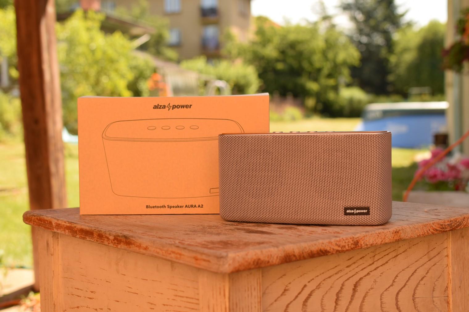 Bezdratovy reproduktor AlzaPower Aura A2 s krabici