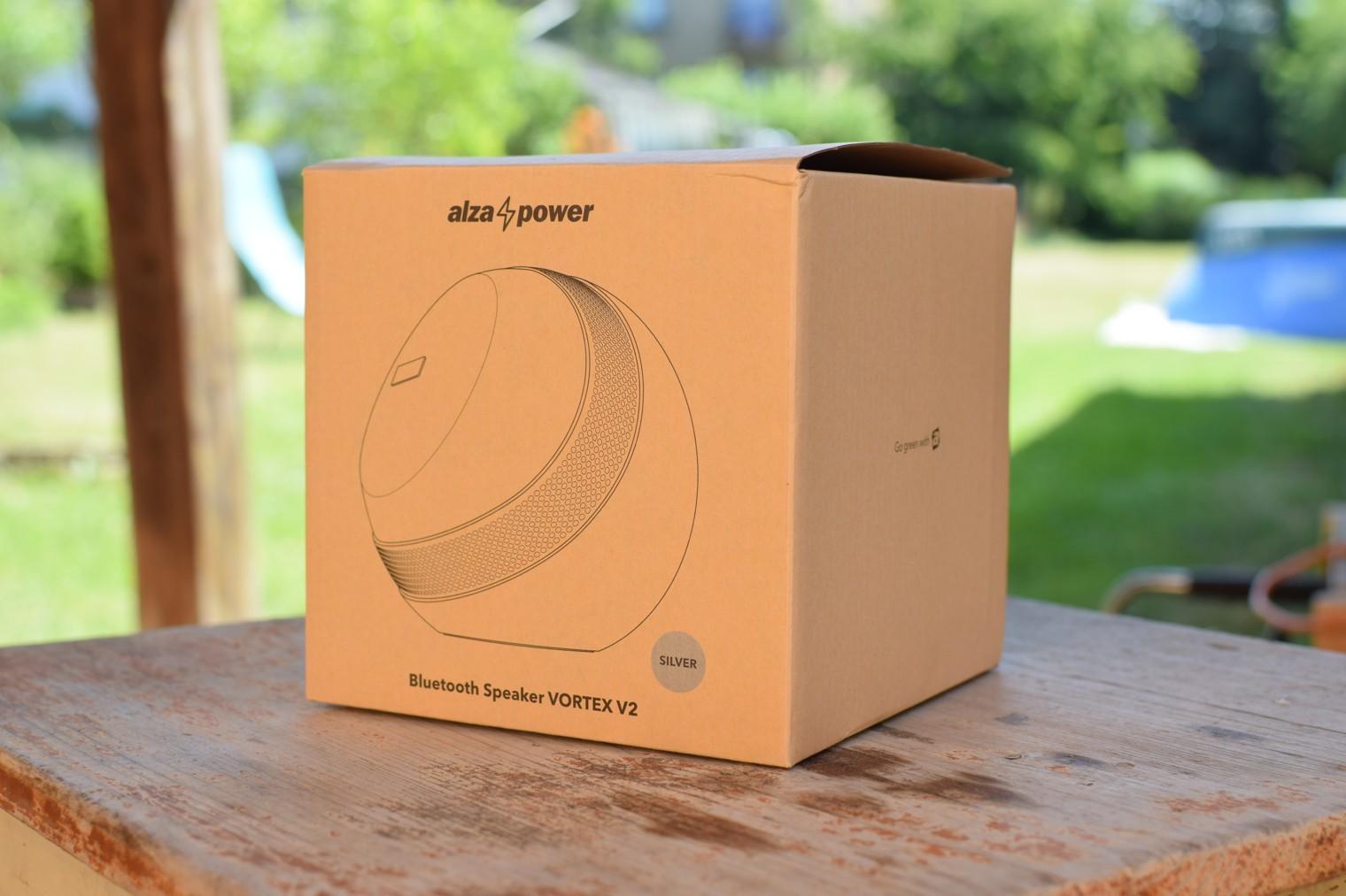 Krabice k reproduktoru AlzaPower VORTEX V2