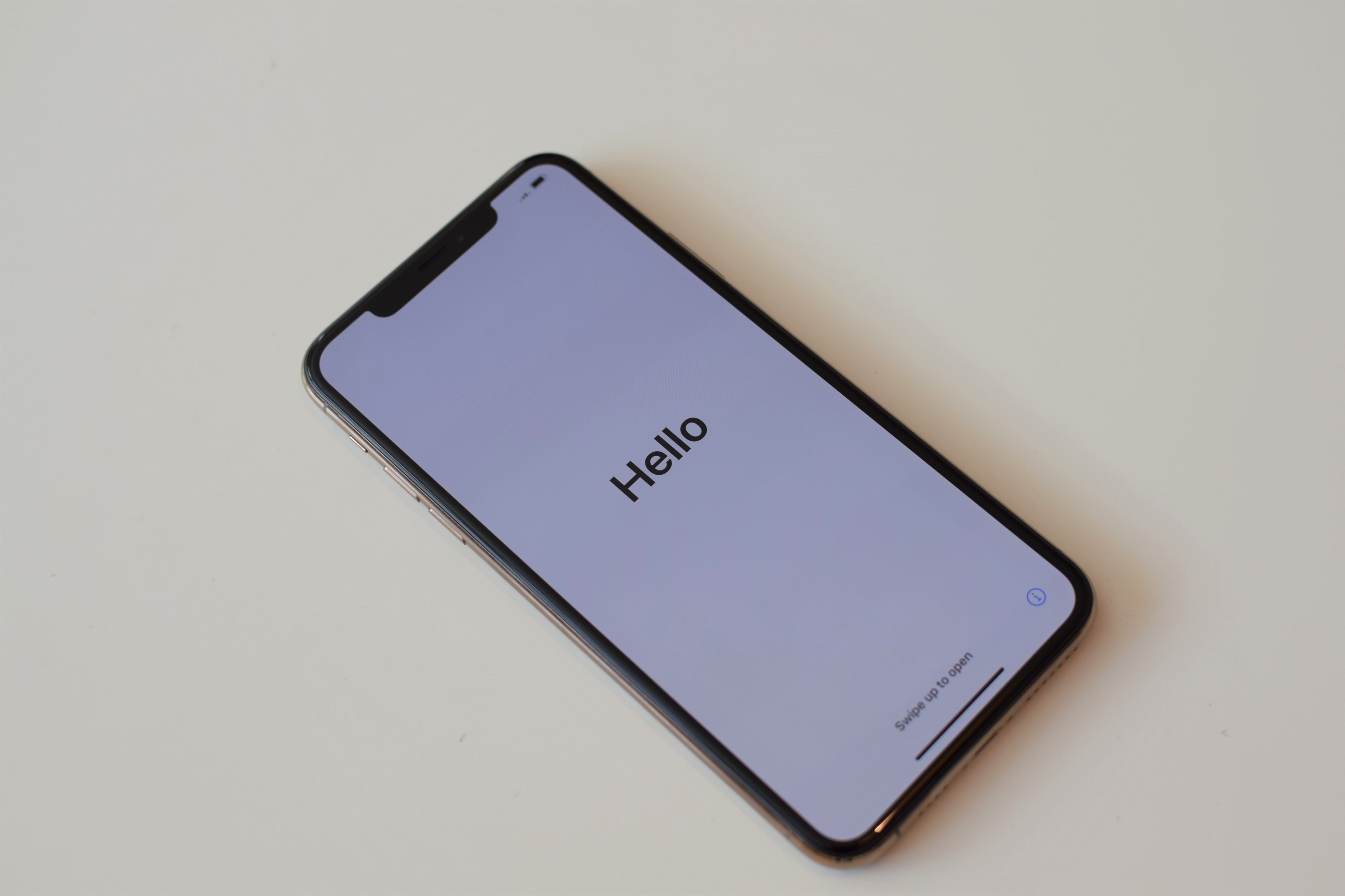 Hello iPhone 11 Pro Max