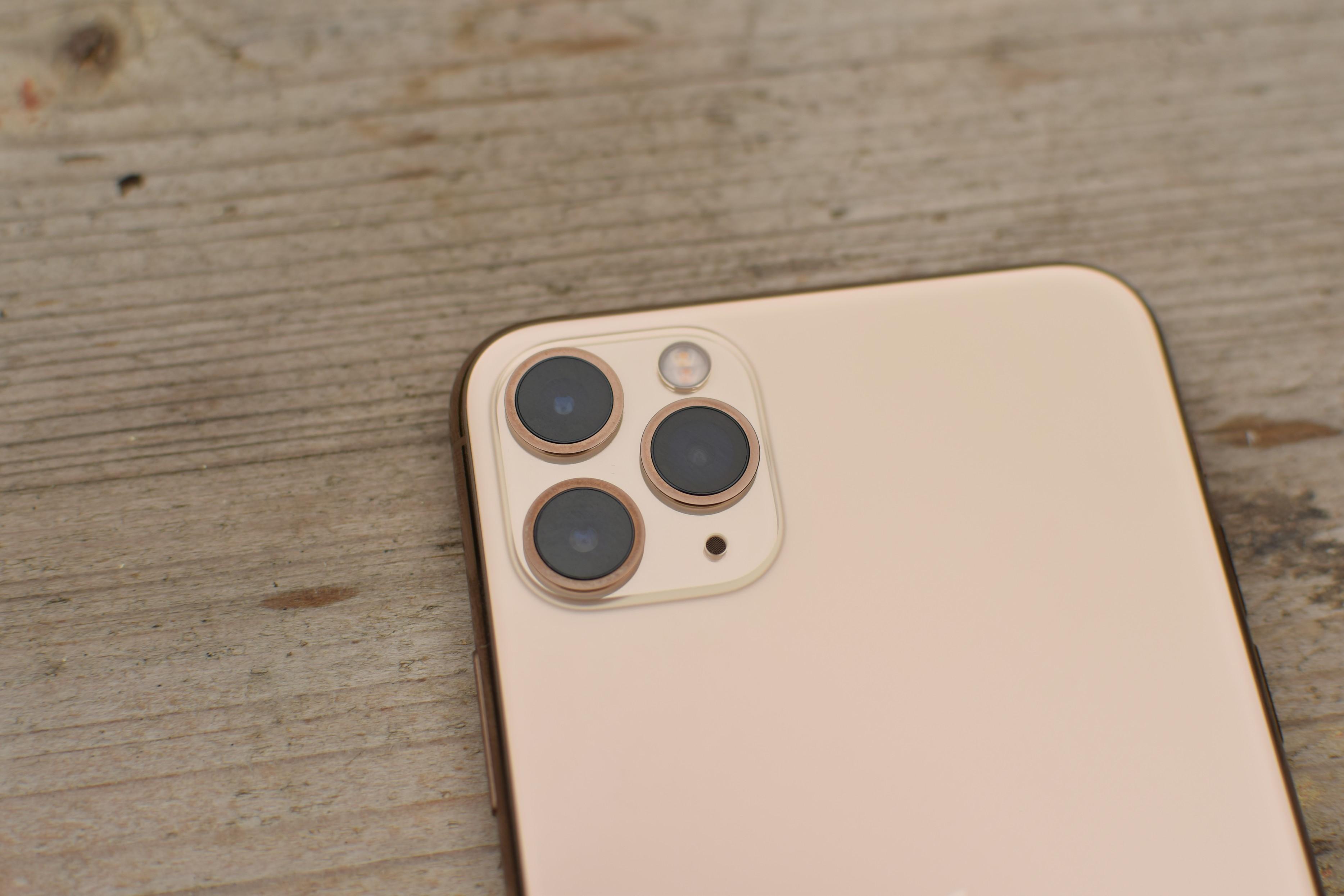 Detail fotoaparátu iPhonu 11 Pro Max