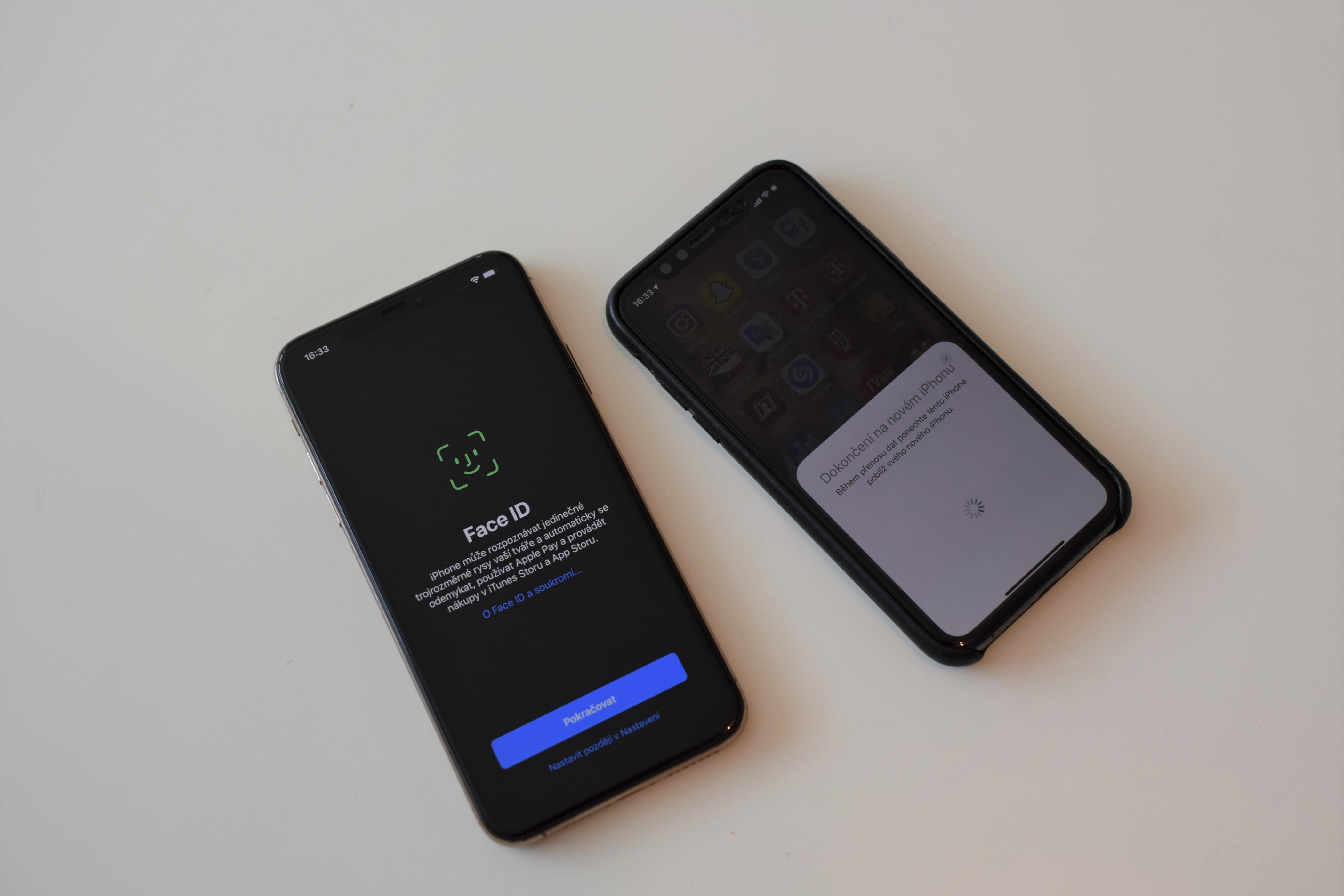 Nastavování iPhonu 11 Pro Max