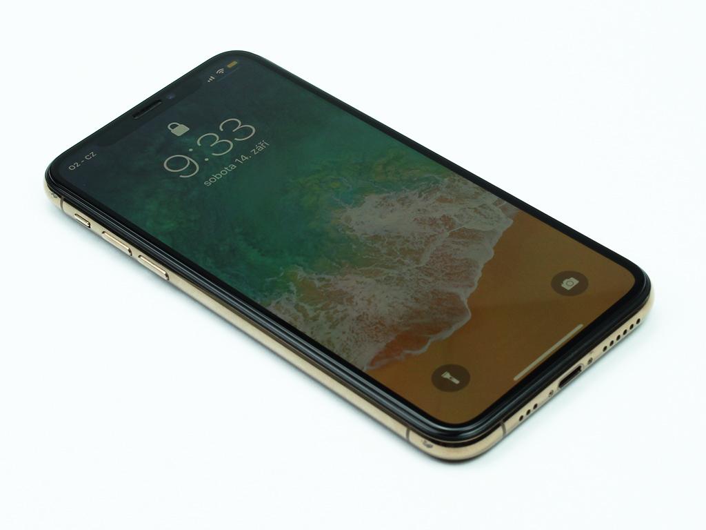 3D Tvrzené sklo iPhone X PREMIUM
