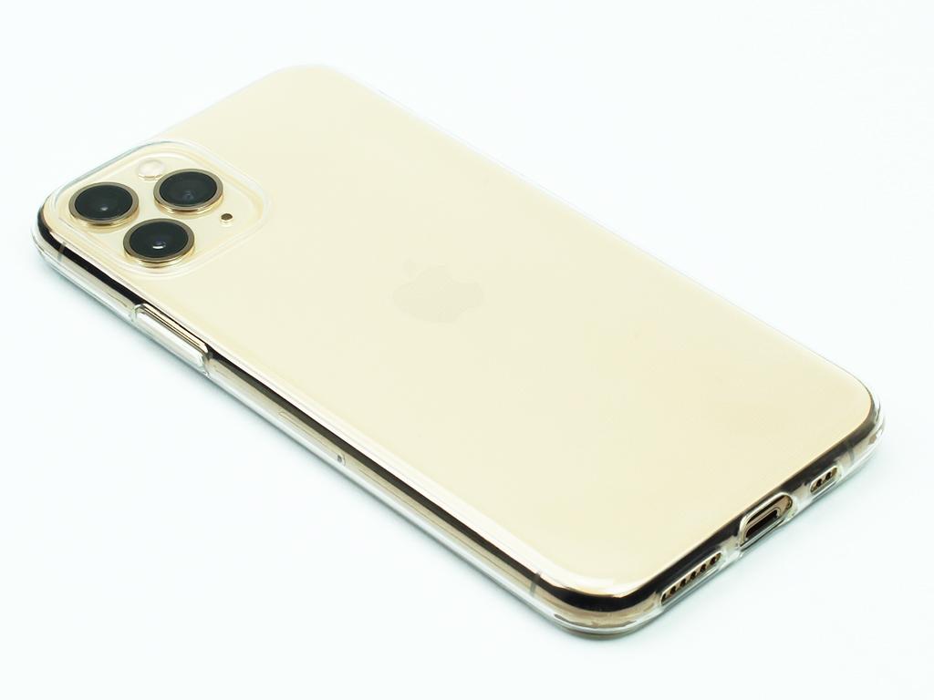 Gumový obal na iPhone 11 Pro - Průhledný - 1
