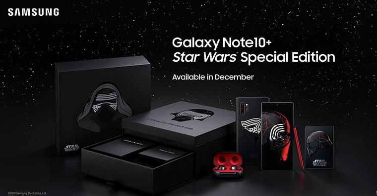 Samsung Galaxy Note 10+ ve Star Wars edici