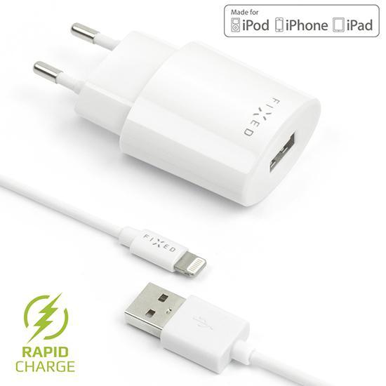 Nabíječka FIXED s odnímatelným Apple Lightning kabelem