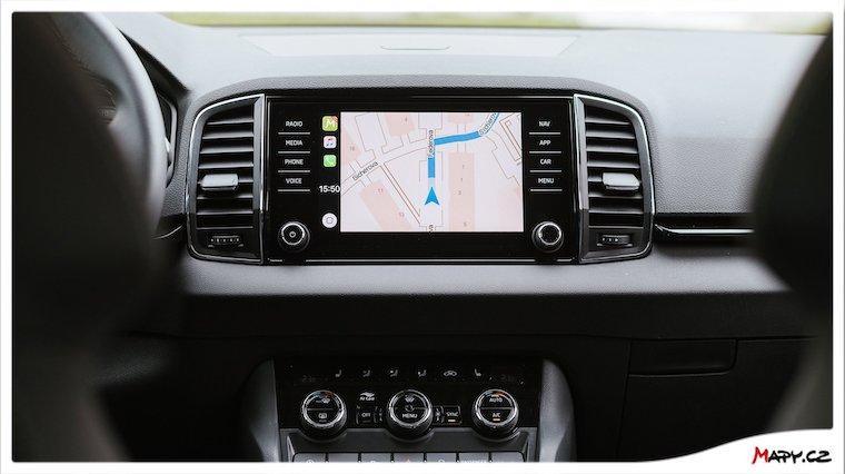 Mapy.cz a CarPlay