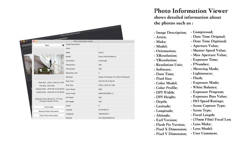 Photo Information Viewer -EXIF