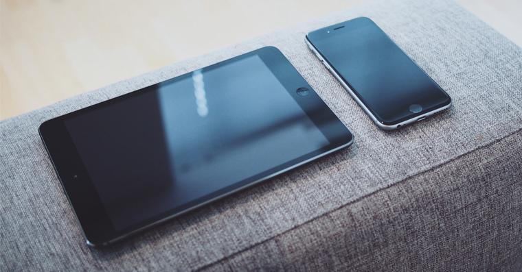 ipad a iphone 6s