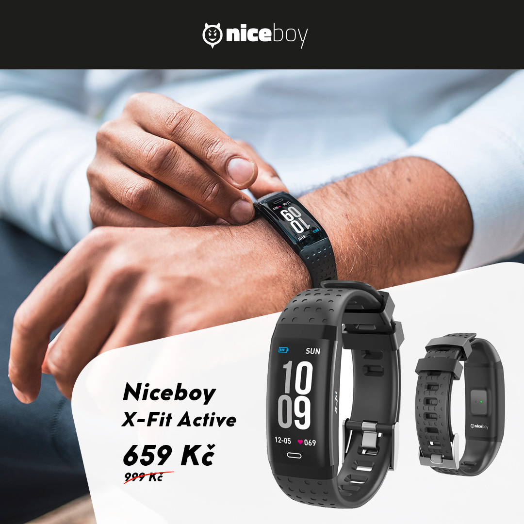 Niceboy X-Fit Active