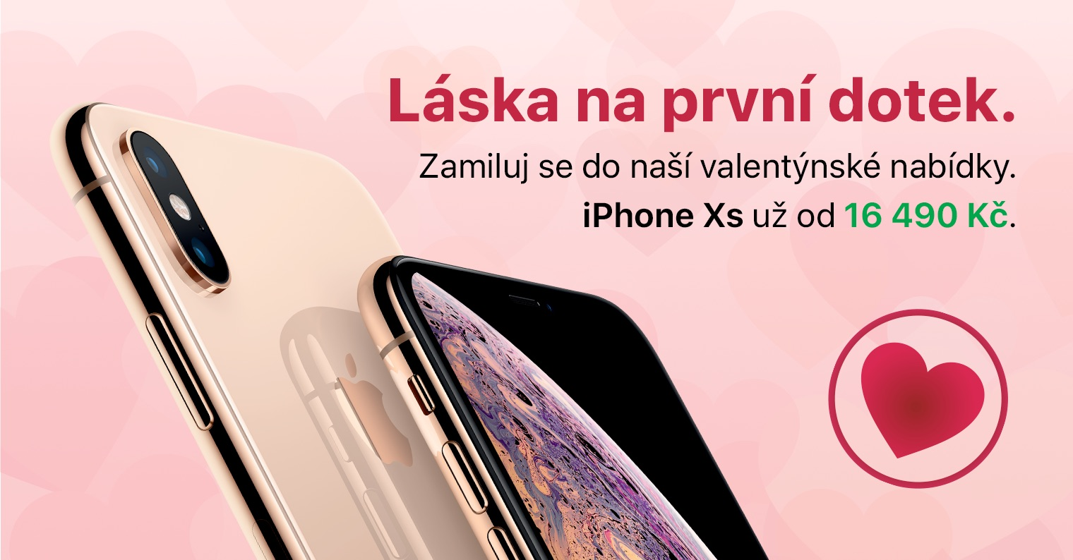 iStores Valentýn iPhone XS