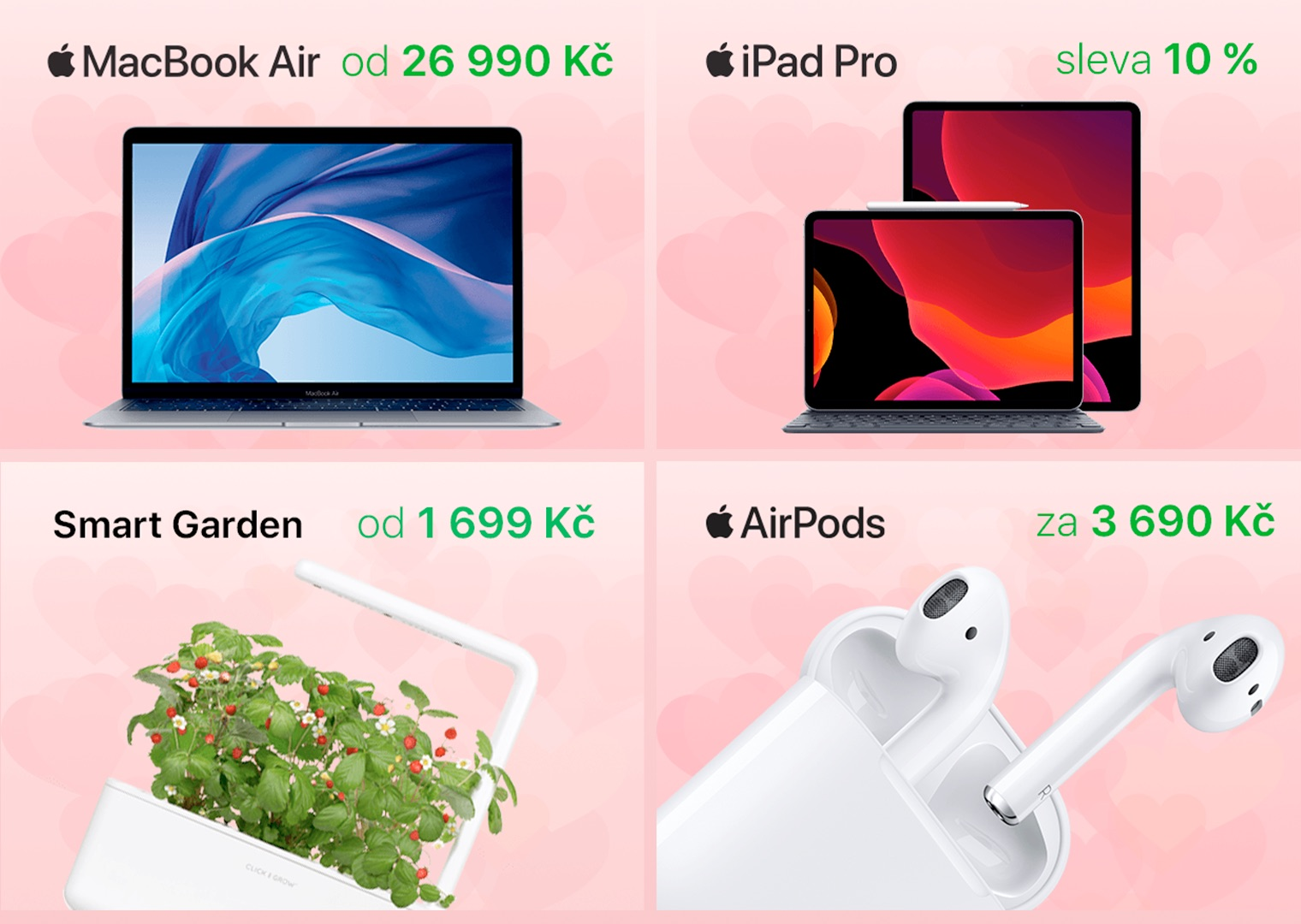 iStores valentýnská nabídka