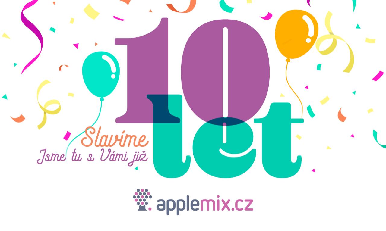AppleMix.cz - Deset let