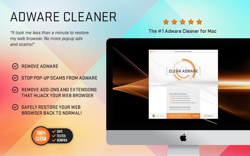 Adware Cleaner - Remove Adware, Spyware, and Restore Your Browser