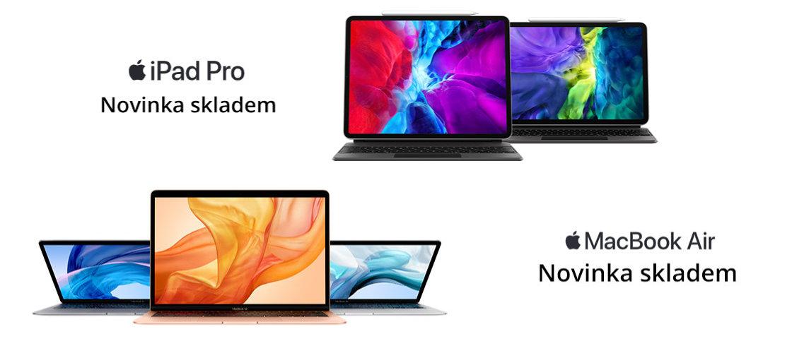 Novy iPad Pro a MacBook Air skladem