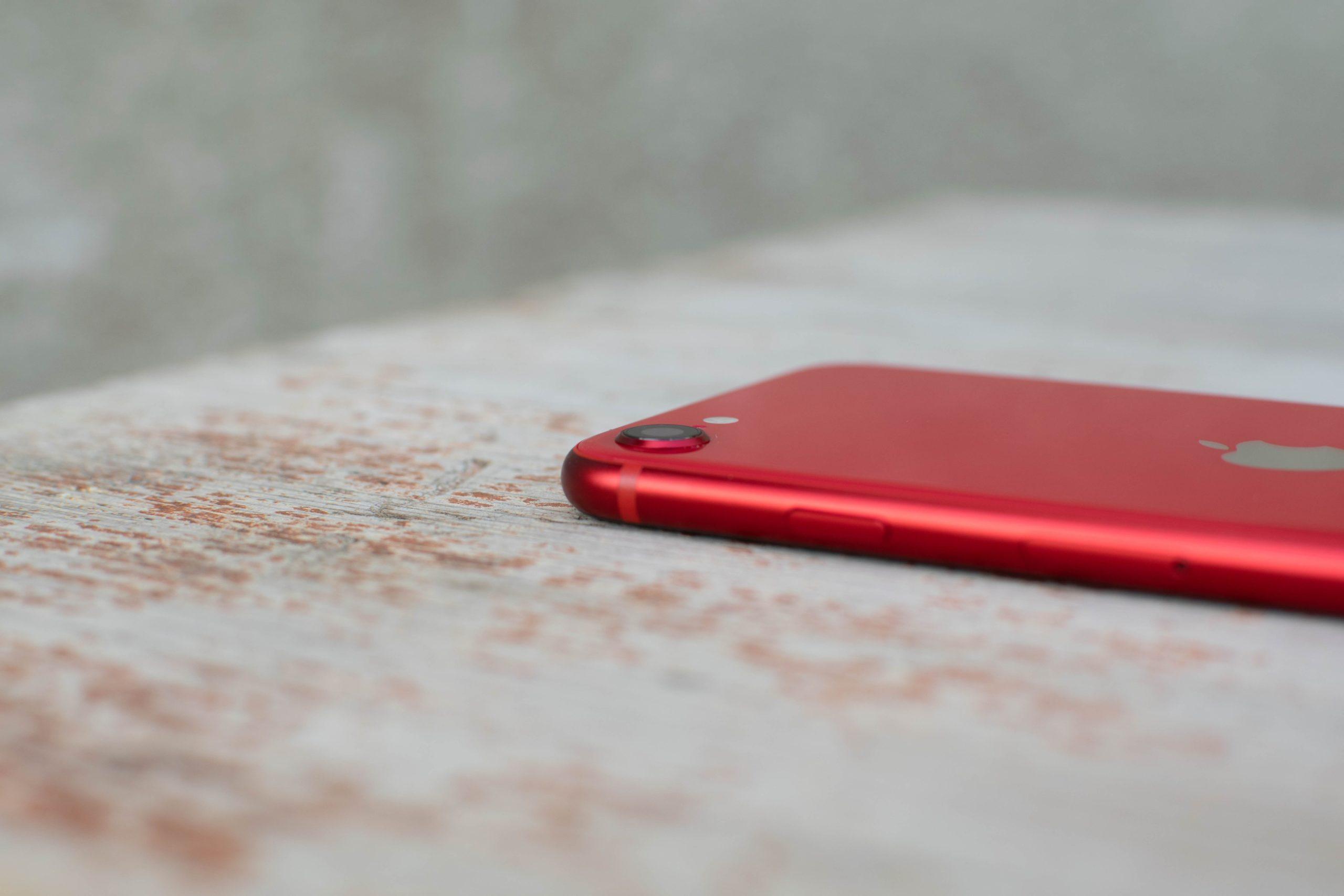 Fotoaparát iPhonu SE 2