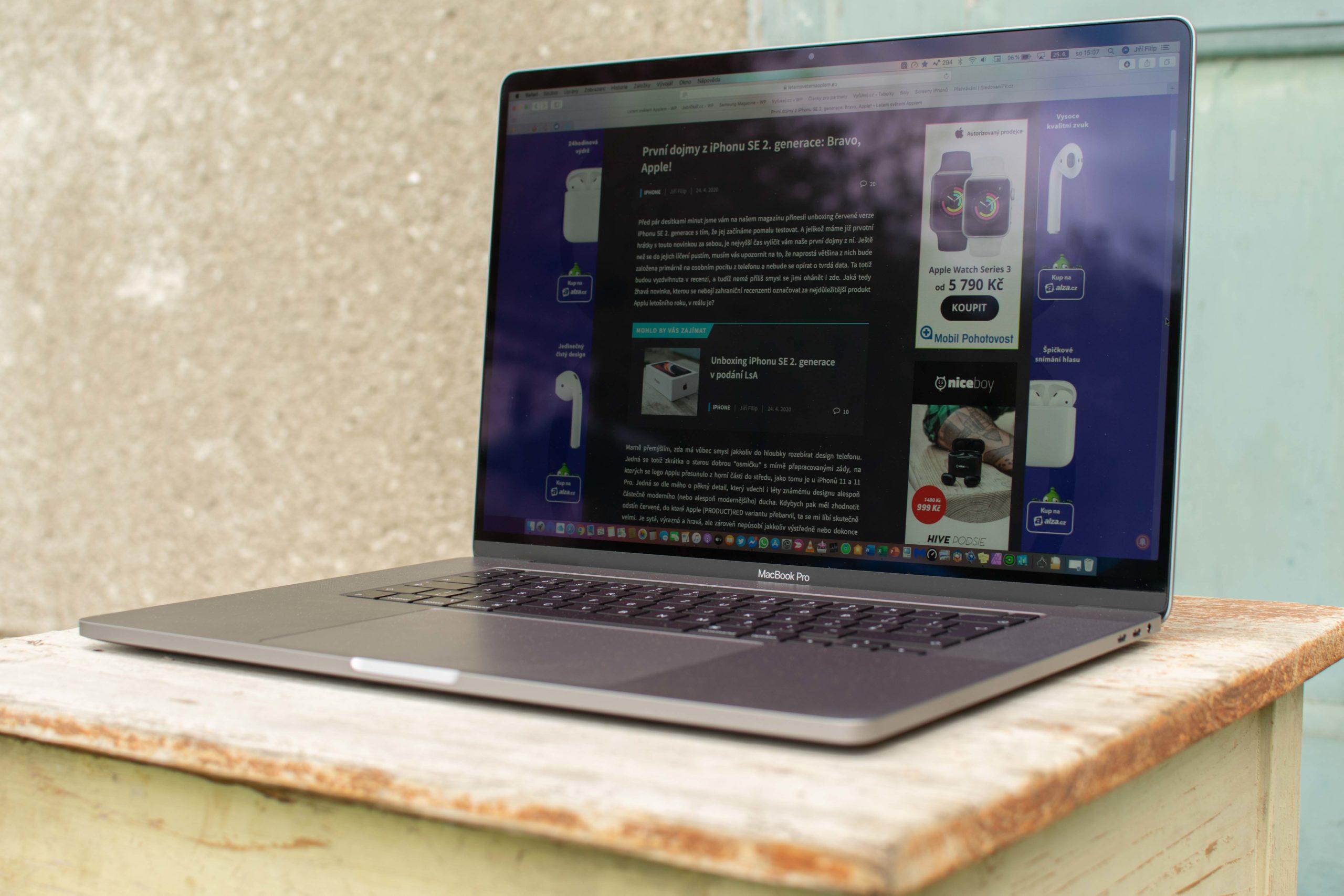 """Letem světem Applem na 16"""" MacBooku Pro"""