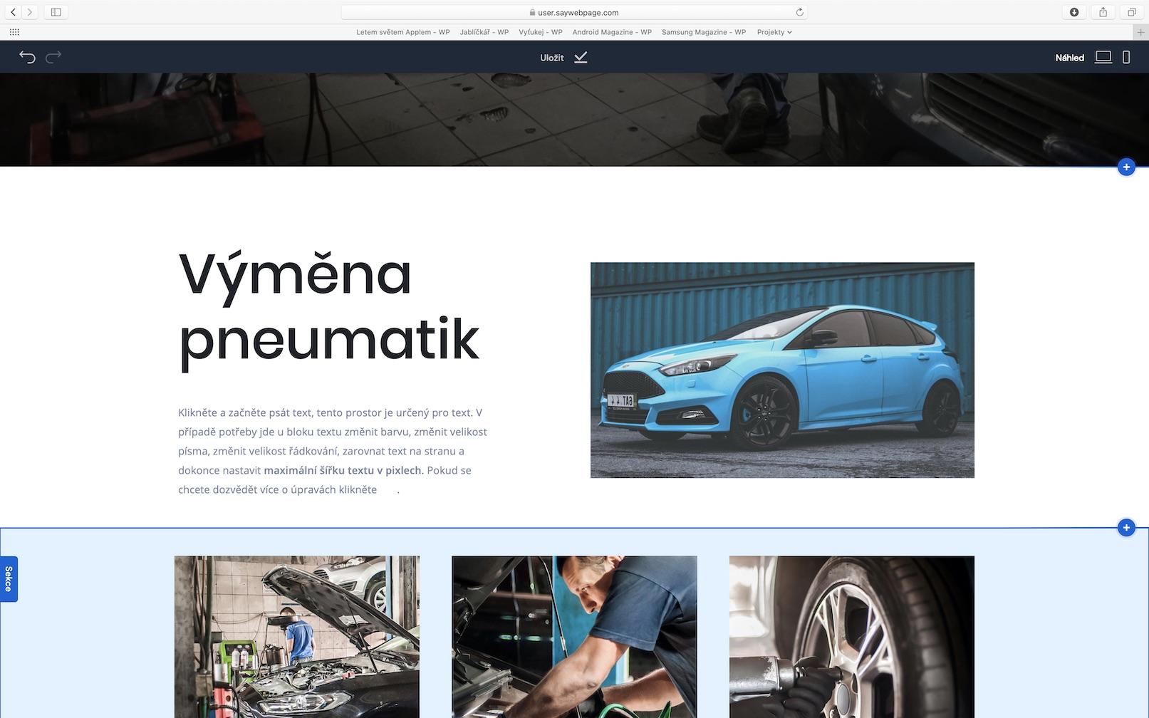 saywebpage