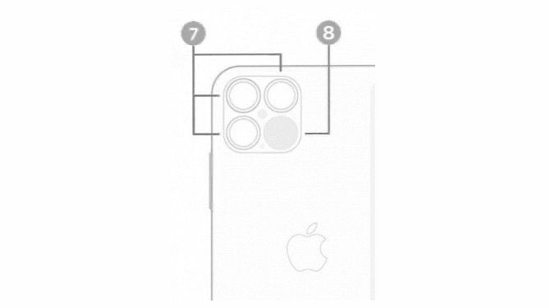 Uniklé schéma iPhonu 12 Pro