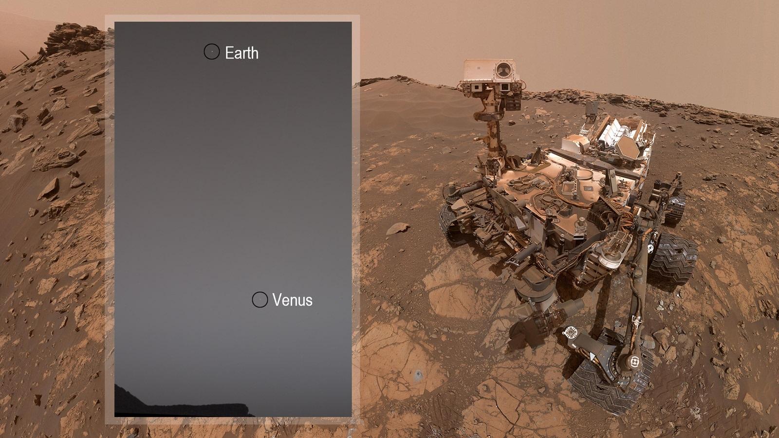 fotka z Marsu
