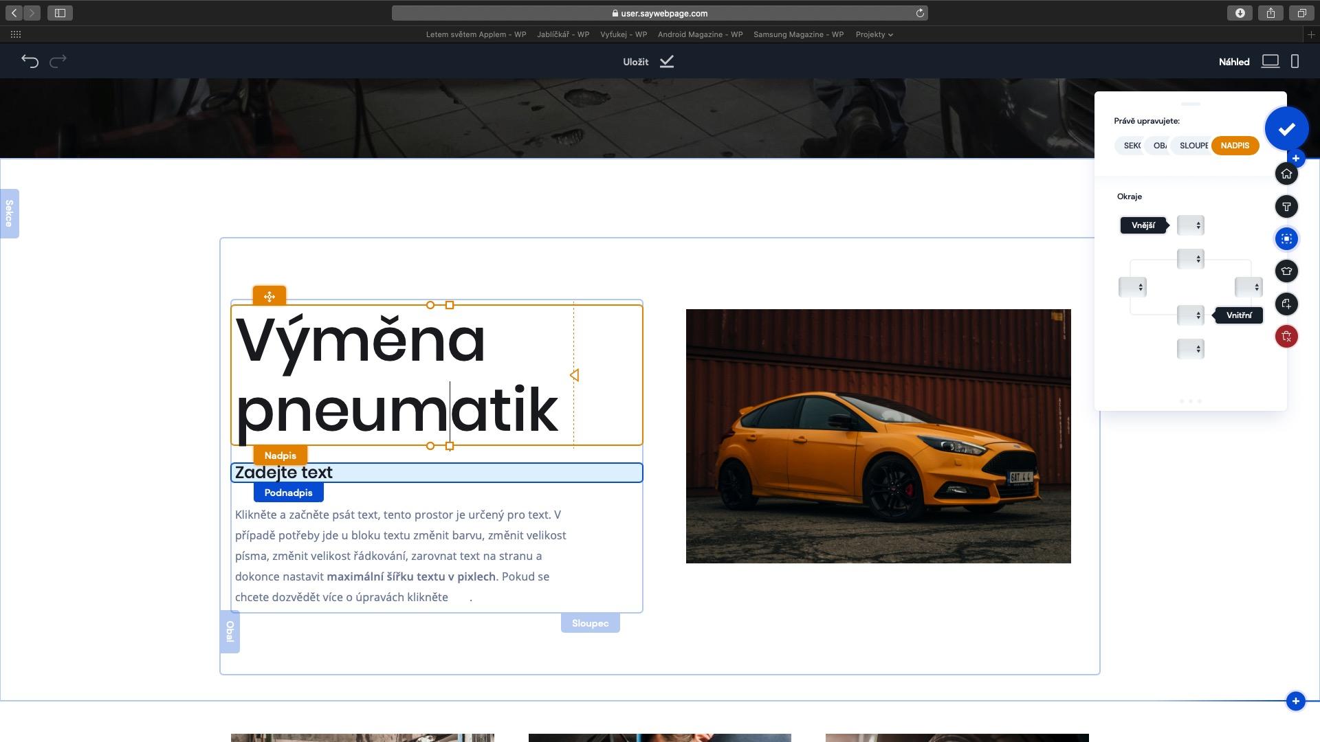 saywebpage 5. díl