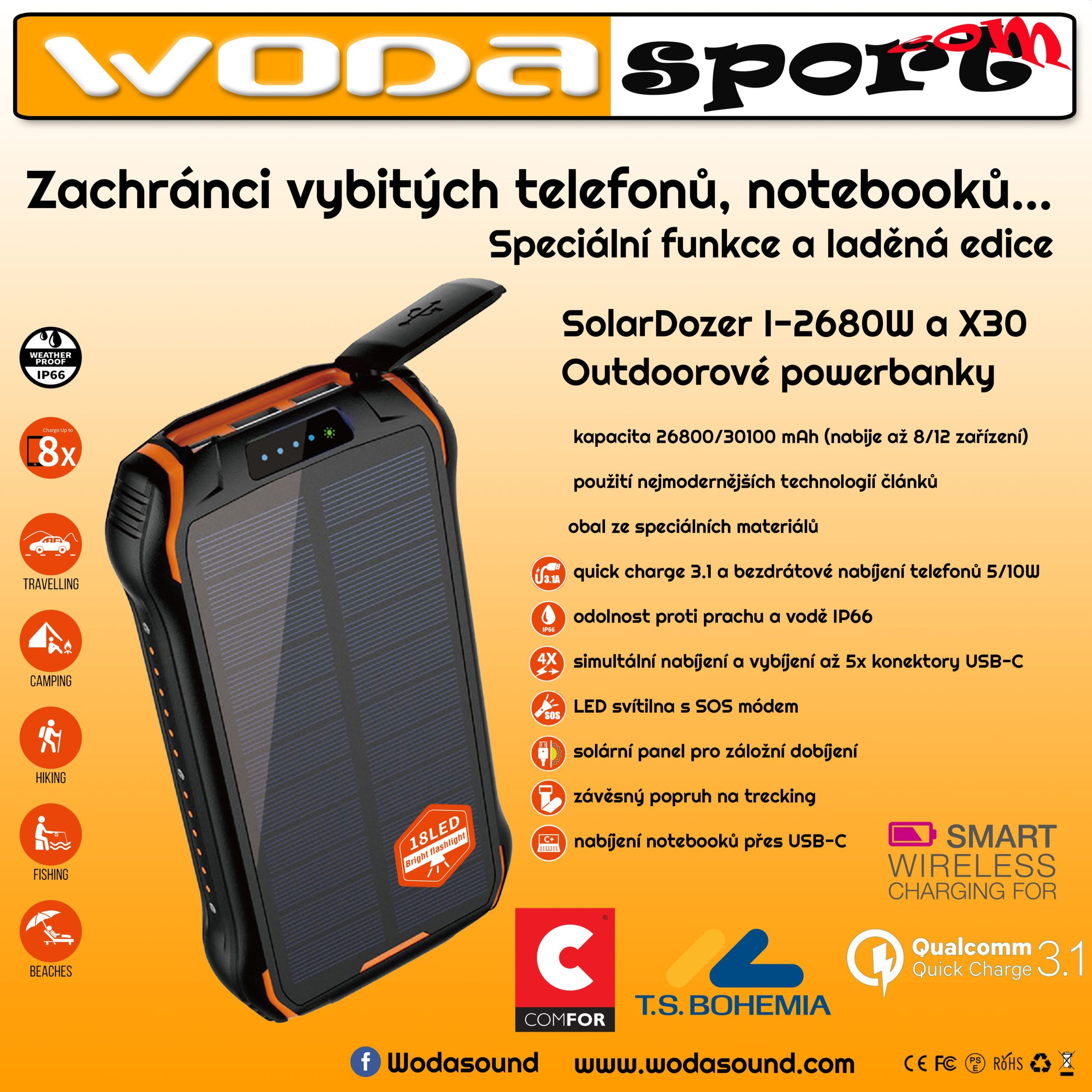 SolarDozer X30 Outdoor Adventure WODASPORT