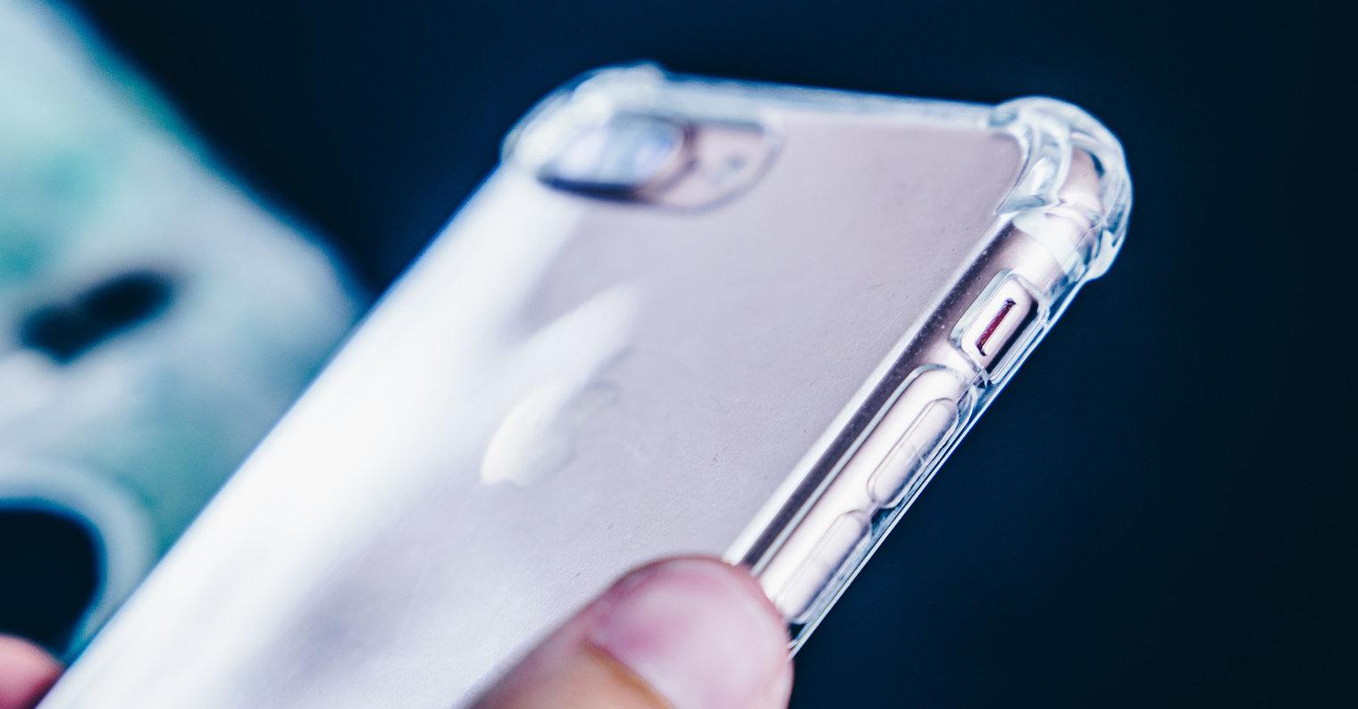 iPhone silikonový obal fb