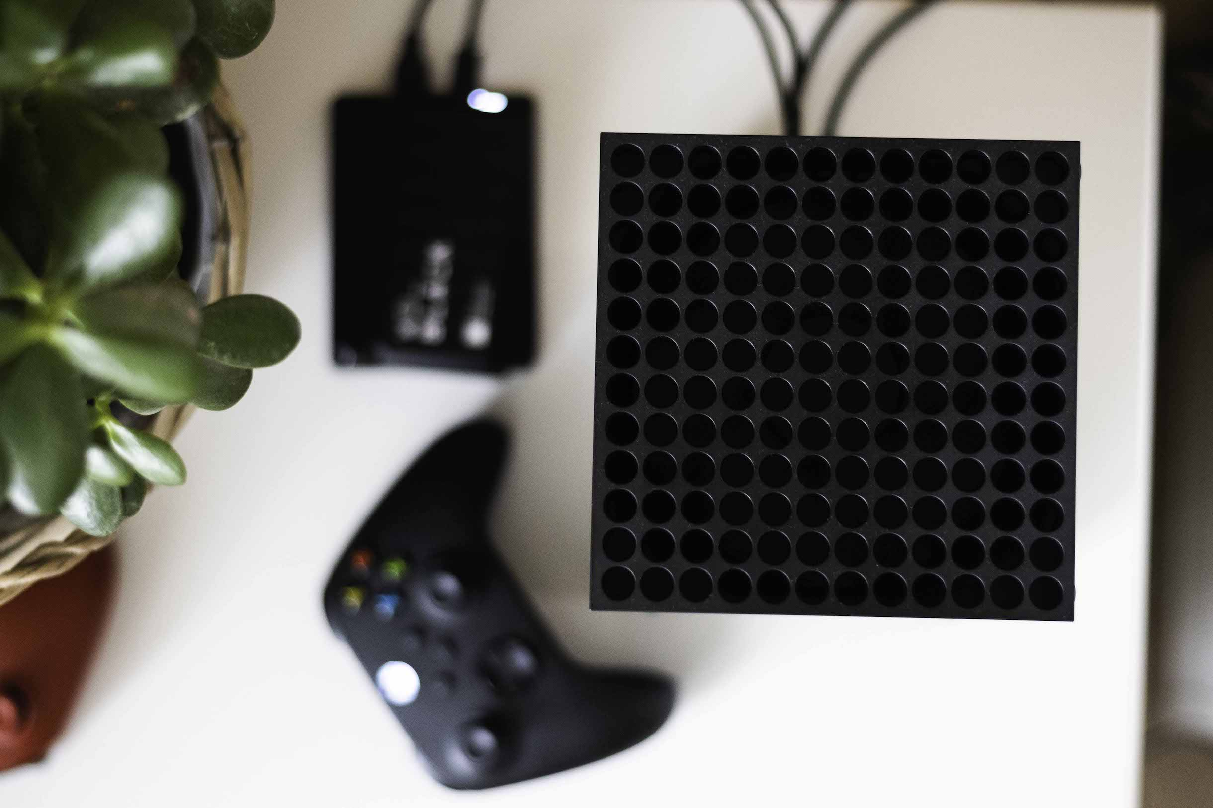 Xbox Series X v redakci LsA