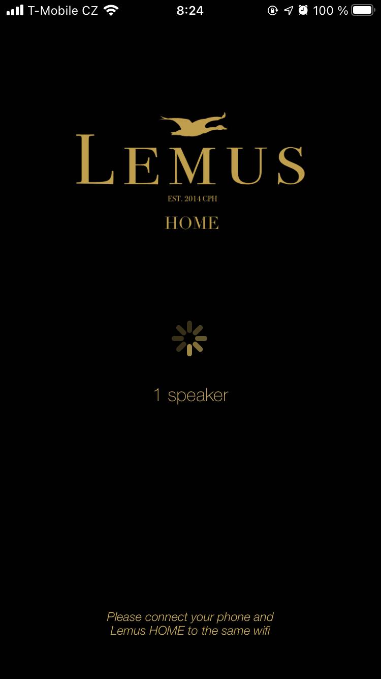 Doprovodná aplikace Lemus Home