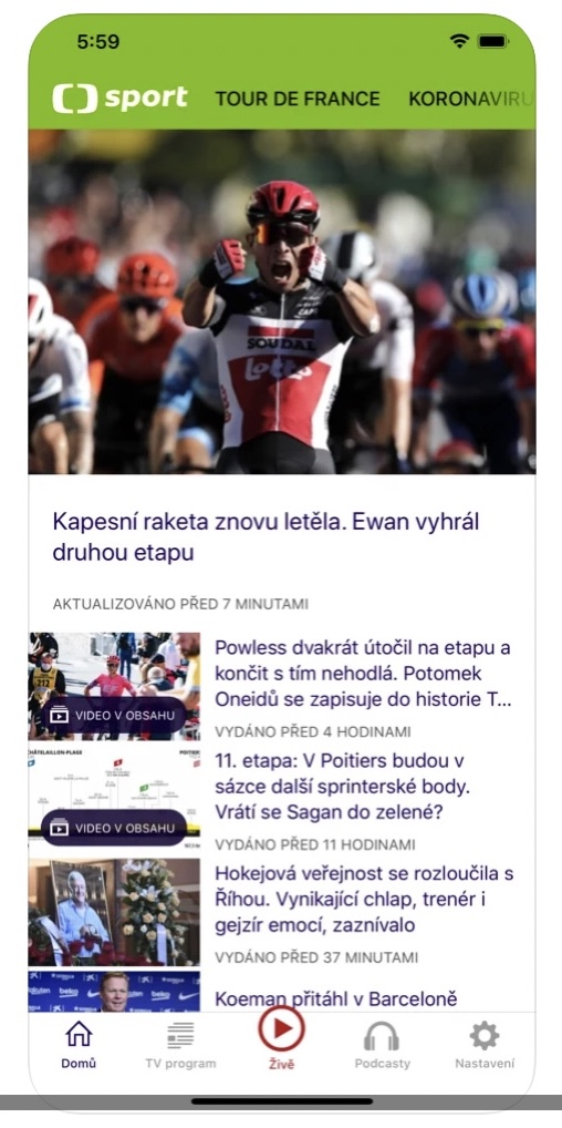 ct sport 2