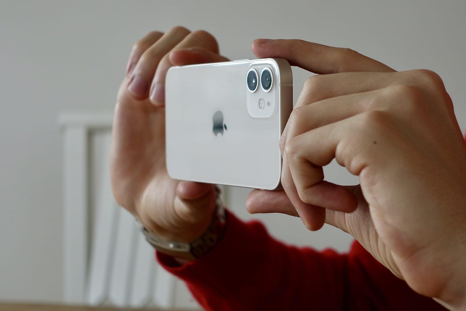 iPhone 12 focení